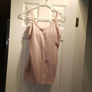 Women's Under Control pink nursing tank size S